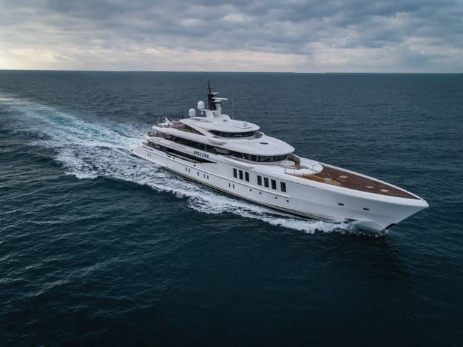 M/Y Spectre Photo courtesy of Benetti.