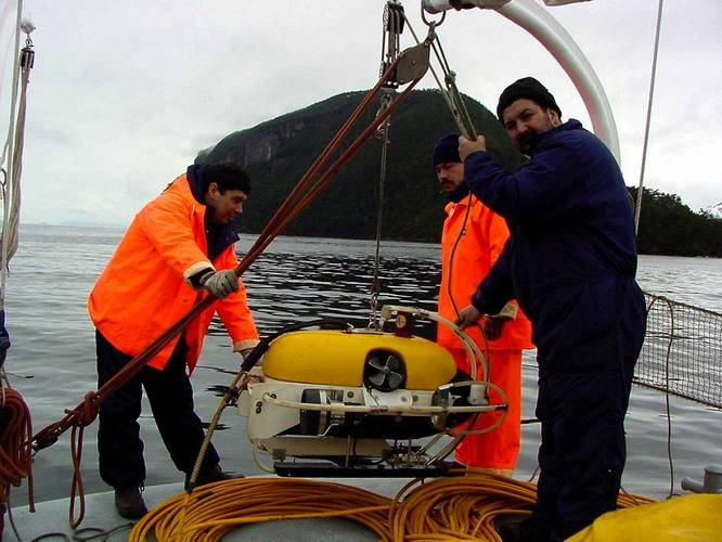 Nautilus is still using their Seaeye ROV bought in 1991