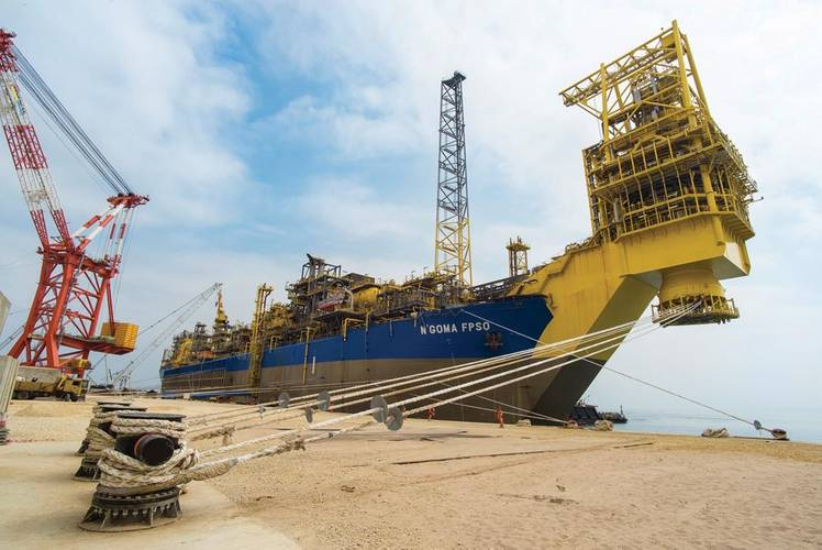 New model: the N'Goma FPSO has local infrastructure and oil-company support.  Credit: Courtesy SBM Offshore