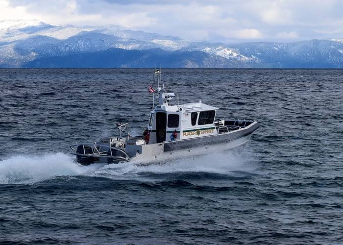 New patrol boat for Placer County Sheriff's Office (Photo: Moose Boats)