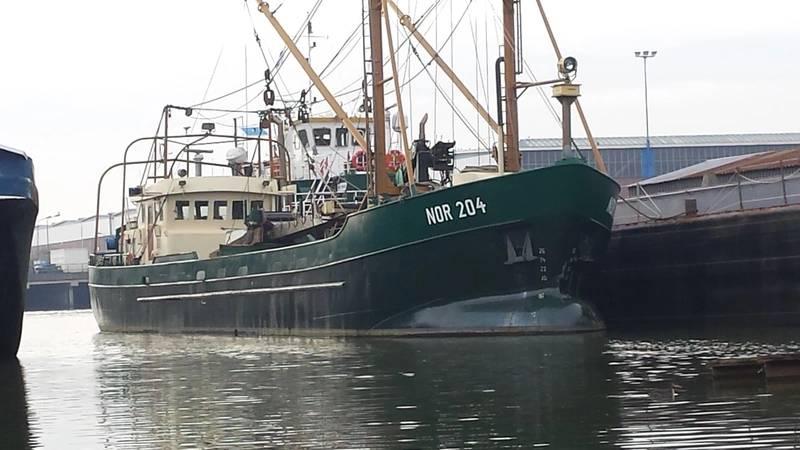 NOR 204 on the outfitting quay of Shipyard Kooiman (Photo: Kooiman)
