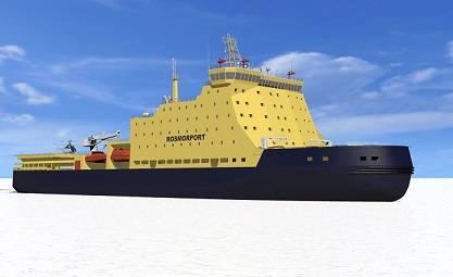 Nordic Yards rendering of Icebreaker LK-25