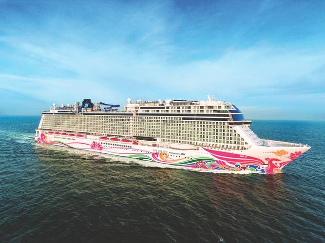 Norwegian Joy is NCL's first custom-designed ship for the Chinese cruise market (Photo: NCL)