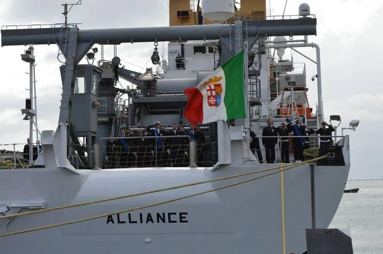 NRV Alliance ITN flag