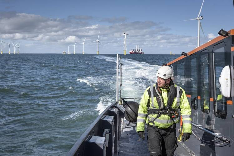 Offshore wind has finally gathered momentum on this side of the 'big pond.' Image CREDIT: CWind