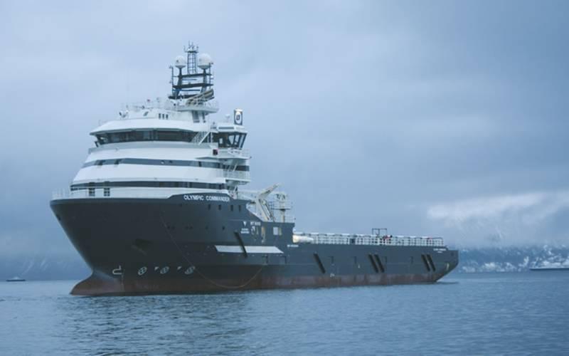 Olympic Commander will be renamed Skandi Darwin (Photo: Olympic Shipping)