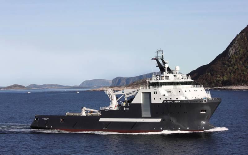 Olympic Hera will be renamed Skandi Hera (Photo: Olympic Shipping)