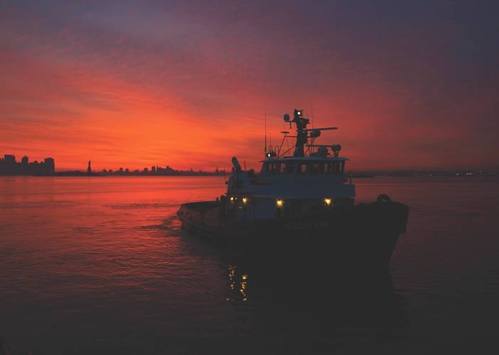 One important impact of the new regulations is that, once they enter into effect, the U.S. Coast Guard will be the principal federal agency overseeing towing vessels.  OSHA will immediately lose its authority over inspected towing vessels. (Photo: Pat Folan)