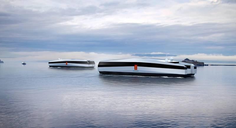 Autonomous vessels (Photo: Kongsberg Maritime)