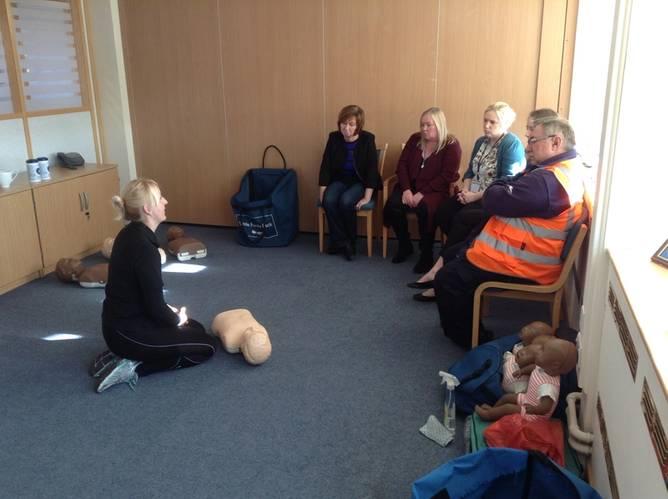 Paediatric First Aid  Shoreham Port.