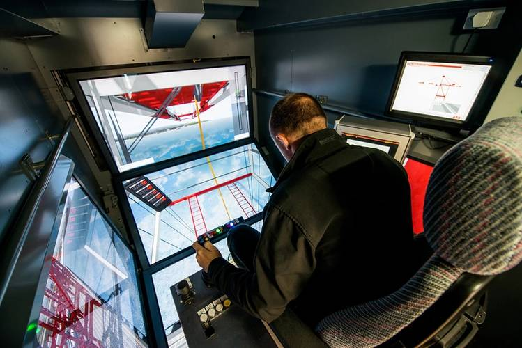 Peel Ports - Inside the crane simulator