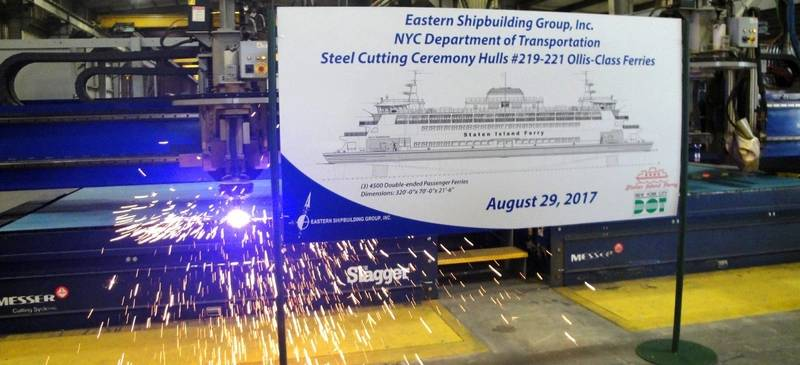 (Photo: Eastern Shipbuilding Group, Inc.)