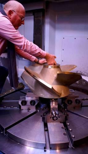 Photo: Maritime Propeller Repairs