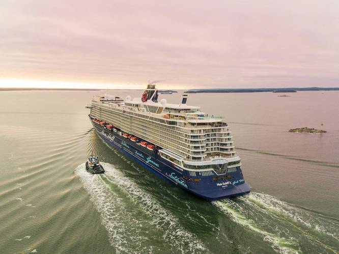 Photo: Meyer Turku/TUI Cruises