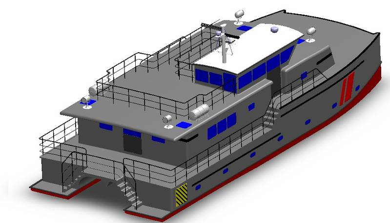 Photo: Trawlercat Marine Designs