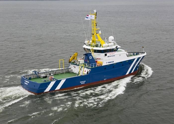 Photos courtesy of Damen Shipyards