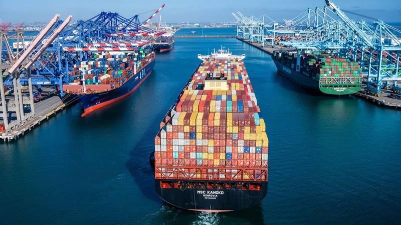 Pier 300 Port of Los Angeles. Photo courtesy Port of Los Angeles