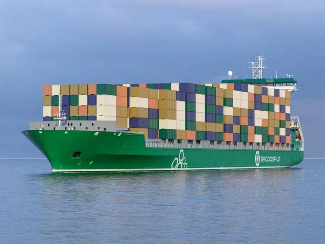 Processing of steel for Brodosplit Box ship Begins courtesy Brodosplit