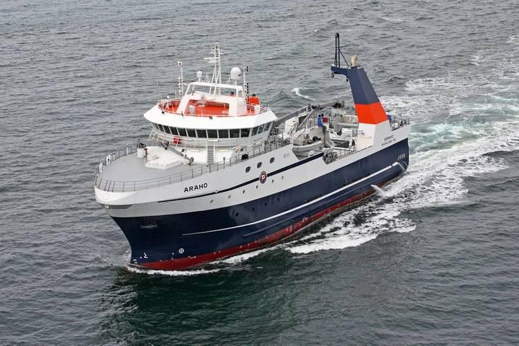 Processor Fishing Trawler FT ARAHO Photo Eastern Shipbuilding Group