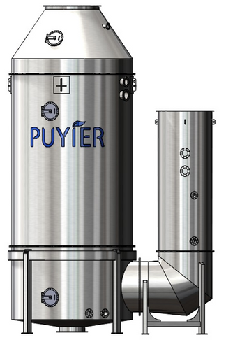 Puyier manufactures open, closed and hybrid scrubber systems in both I-type and U-type configuration. It has more than 70 references and 100 units on order (Image: Newport Shipping Group)