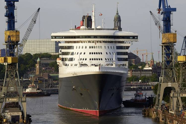 Queen Mary 2 Courtesy  Blohm+Voss