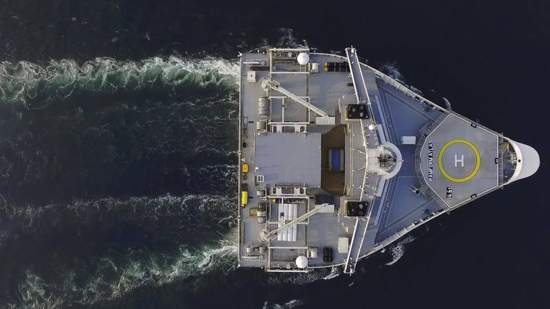 Ramform Atlas represents an enormously stable platform with outstanding seakeeping characteristics. (Photo: PGS)
