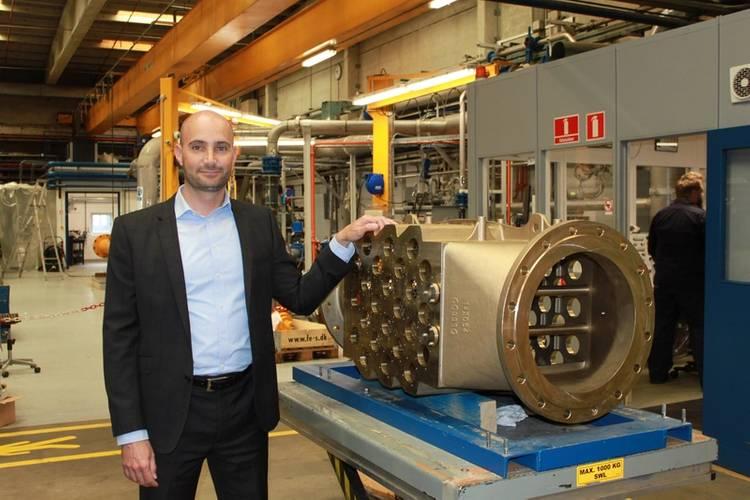 Rasmus Folsø, CEO of DESMI Ocean Guard. (Photo: DESMI Ocean Guard)