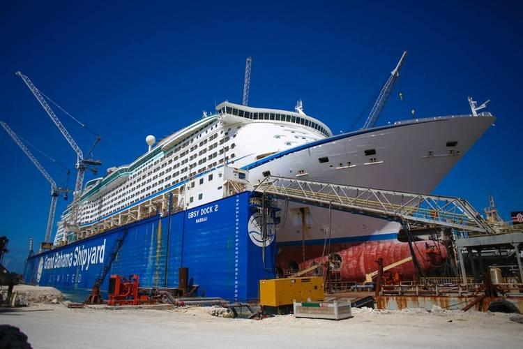 RCCL Adventure of the Seas (Photo: Grand Bahama Shipyard)