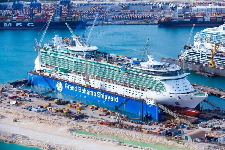 RCCL Liberty of the Seas (Photo: Grand Bahama Shipyard)