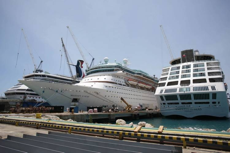 RCCL Majesty of the Seas  (Photo: Grand Bahama Shipyard)