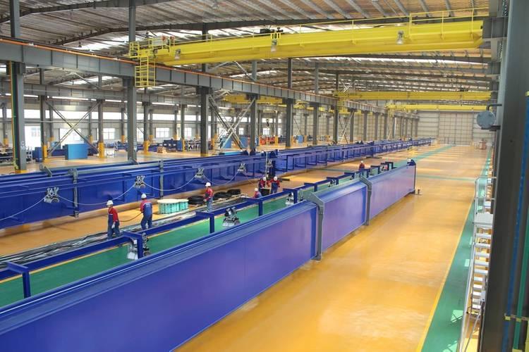 RCI facility, Taicang, China (assembly hall)