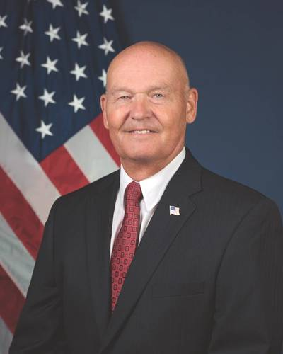 Rear Adm. Mark H. Buzby, USN, Ret. was sworn in as the Administrator of the U.S. Maritime Administration