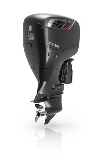 Render of final concept CXO300 diesel outboard engine (Image: Cox Powertrain)