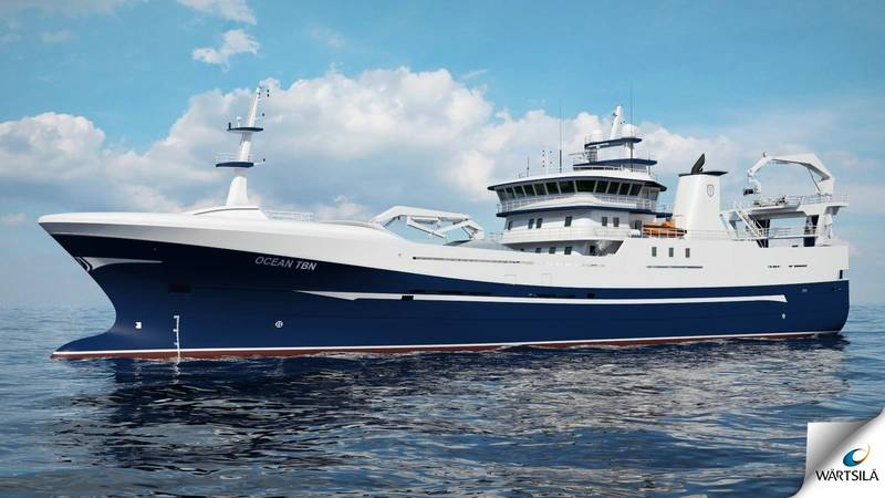 Render of Ocean Star (Image: Wärtsilä)