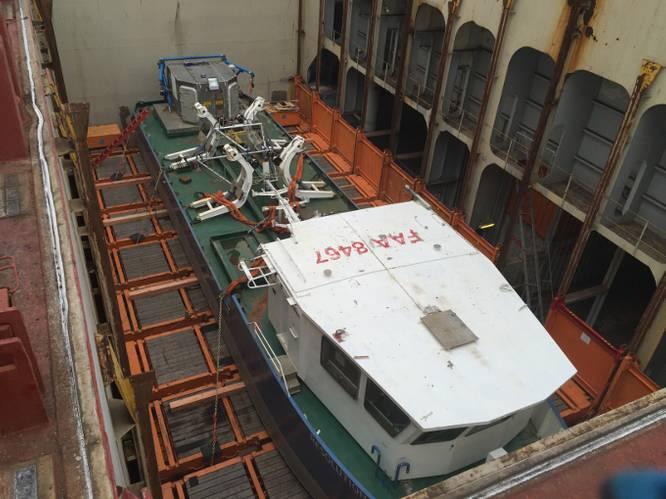 Resolution Brest on board Hapag-Lloyd's Dallas Express (Photo: Hapag-Llod)