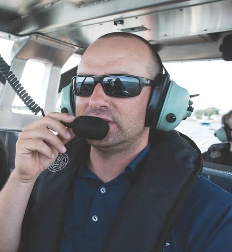 Rob Goley (Photo: SAFE Boats)