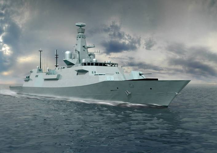 Rolls-Royce is to supply 12 MTU diesel gensets with 20V 4000 M53B engines to prime contractor BAE Systems for the first three Type 26 Global Combat Ships due to go into service with the Royal Navy. (Image: MTU)