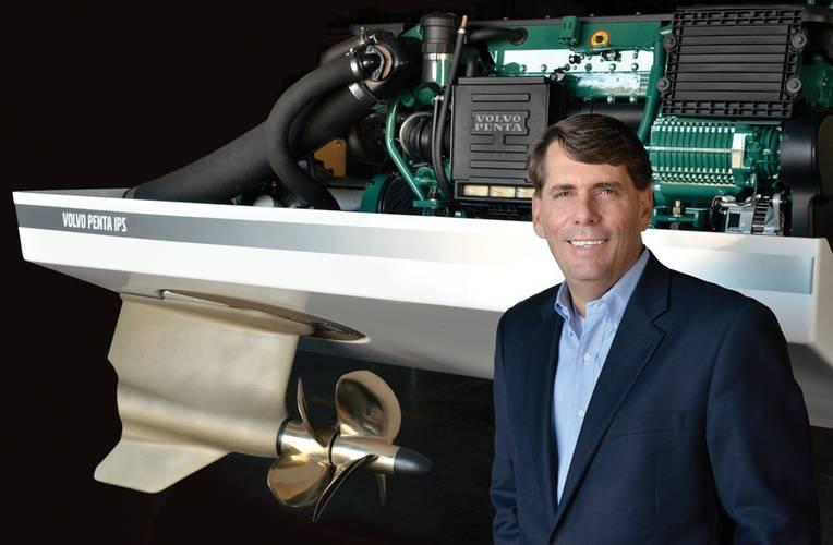 Ron Huibers, president of  Volvo Penta of the Americas