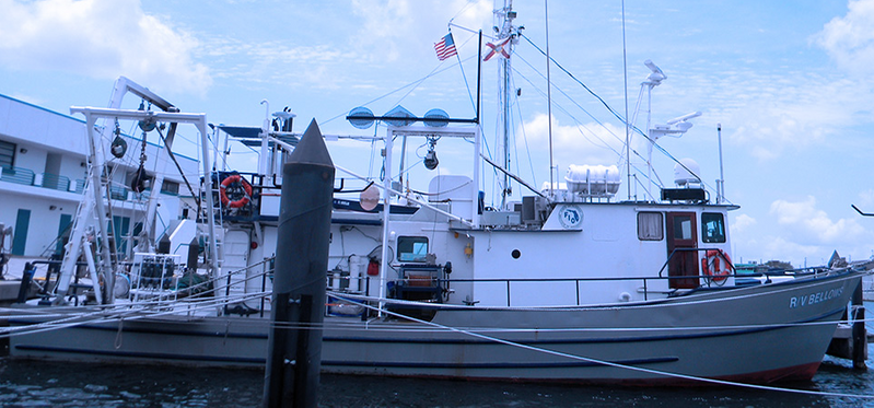 R/V Bellows, originally constructed in 1968. (Photo: Boksa Marine Design)