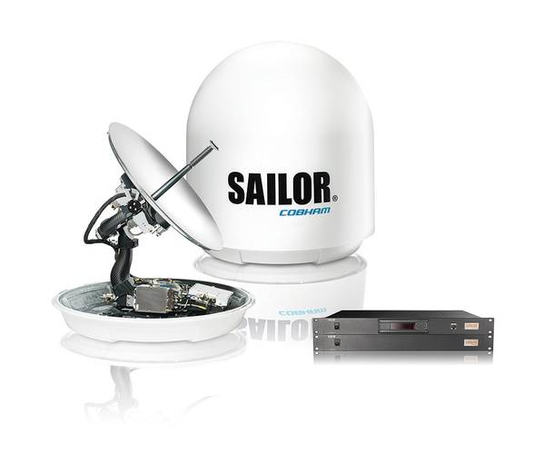 SAILOR antennas for largest Fleet Xpress install project (Image: Inmarsat)