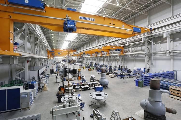 SCHOTTEL production facility; ©SCHOTTEL