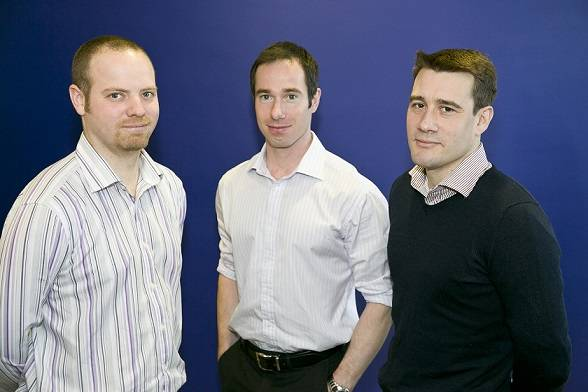 SDS trio – The skills of former servicemen (l-r) Erik Bergman, Magnus Jeffrey and Andrew Wilson are being put to good use in the oil and gas industry.