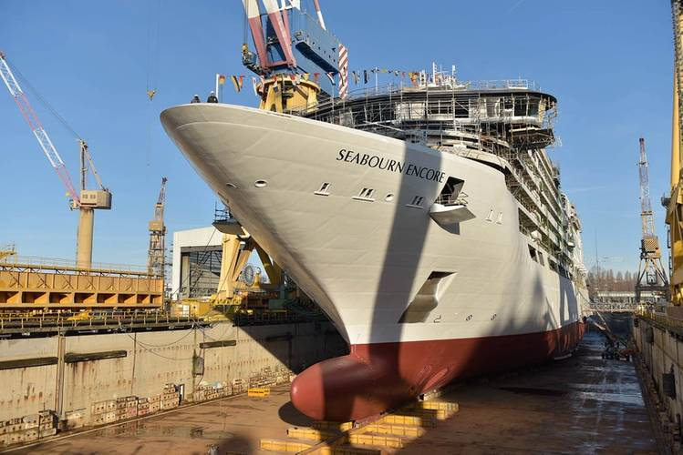 Seabourn Encore (Photo: Fincantieri)