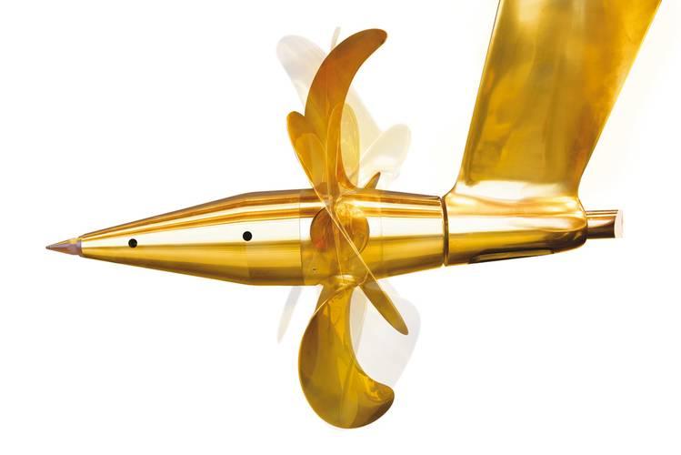 Servogear propeller bracket & propeller