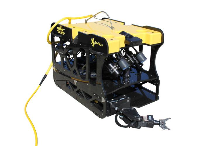 Shark Marine ROV to China.  (Photo: Shark Marine)