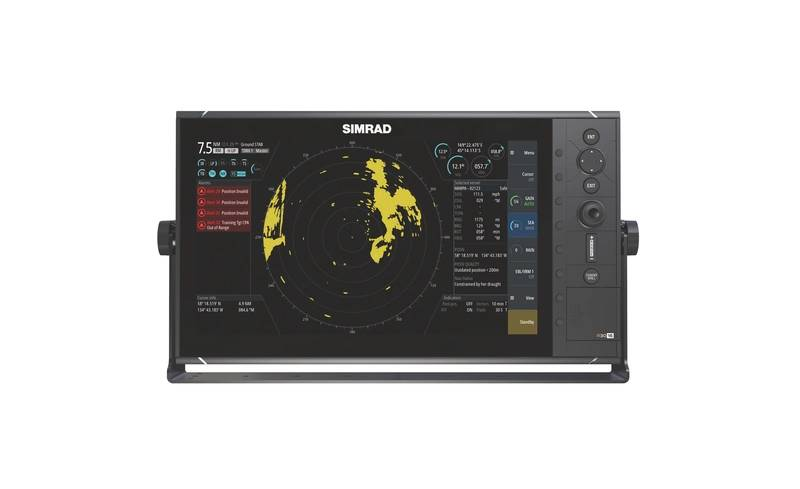 """Simrad is our heritage, as it is the oldest of our brands, but it is also our future on the commercial side"" - Christian Olsson, VP Commercial Marine, Americas (Image: Navico)"