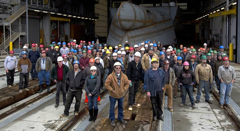 Some of Vigor's Alaskan Shipyard operations staff (Courtesy: Vigor)