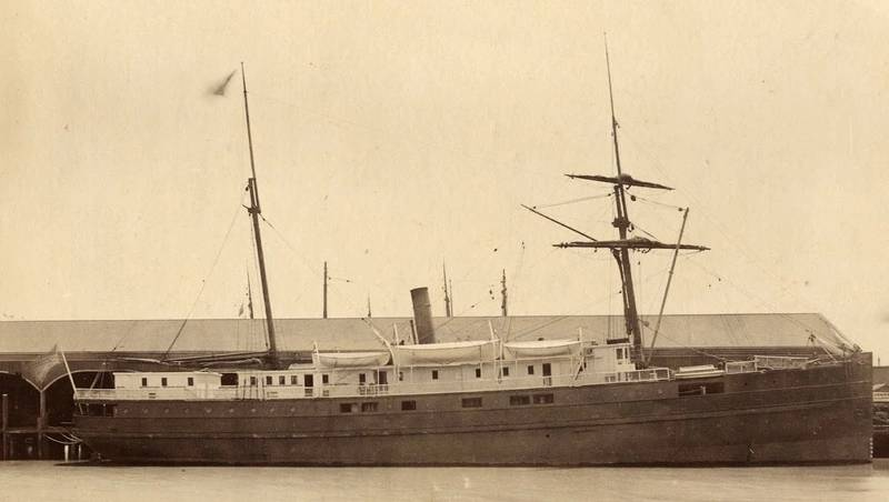 SS City of Chester (Credit: San Francisco Maritime National Historic Park K01.2.571PL)