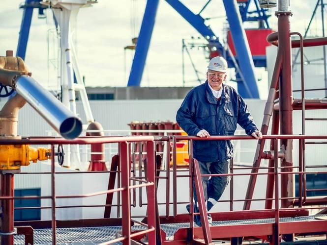 Steinar Nerbovik, President & CEO, Philly Shipyard.
