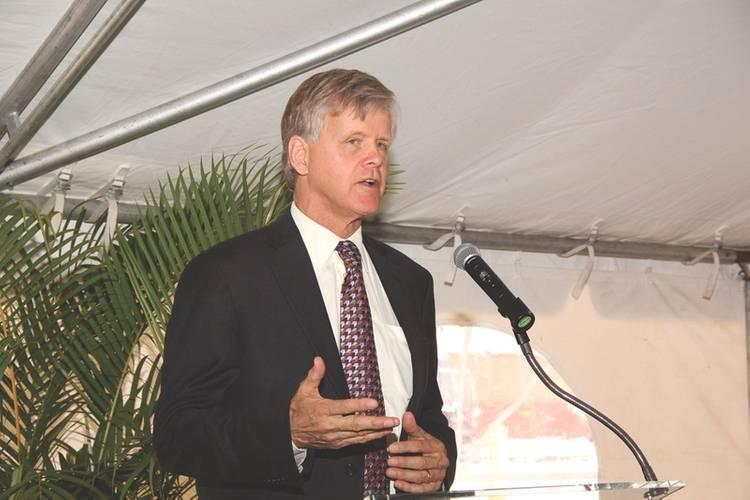 Steven Cernak, Port Everglade's President and Chief Executive Officer (Credit: Broward County's Port Everglades)